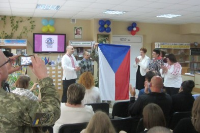 "The center ""Czech Swallow"" was opened in Kramatorsk"