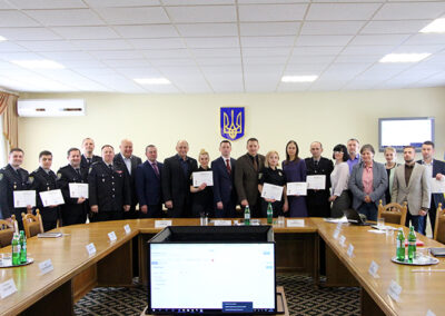 Lviv State University of Internal Affairs – Crime Cards and Combating Trafficking in Human Beings