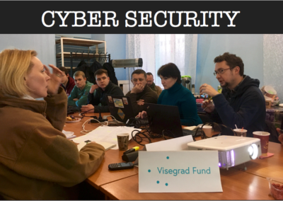 Improving data protection in the Luhansk region – Skills for locals, experience for V4 countries – CYBER SECURITY